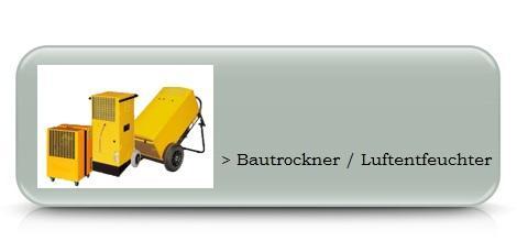 Bautrockner / Luftentfeuchter mieten