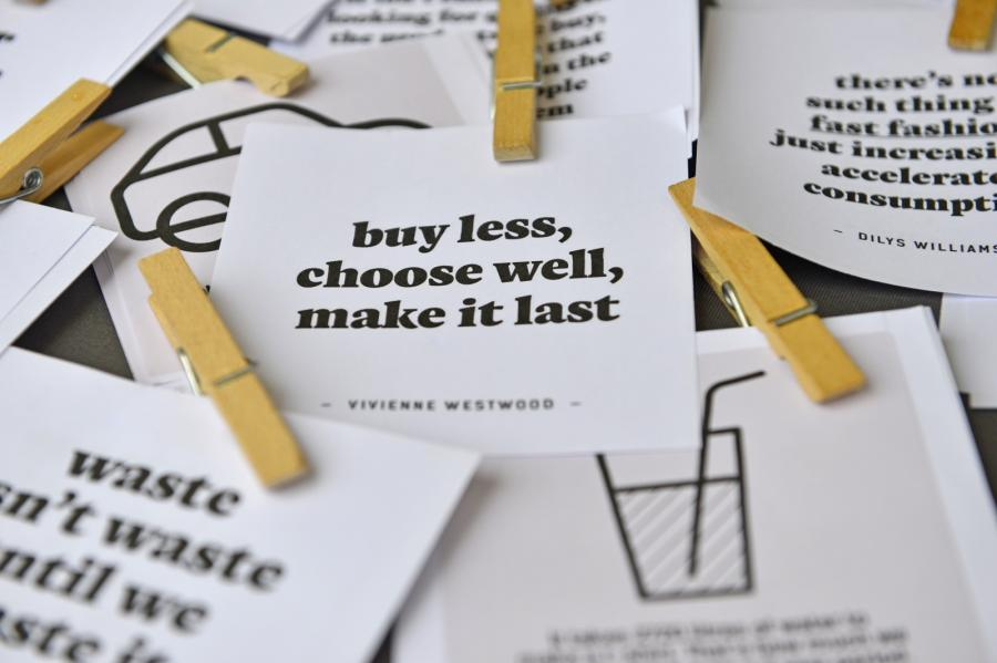 Buy less, choose well...