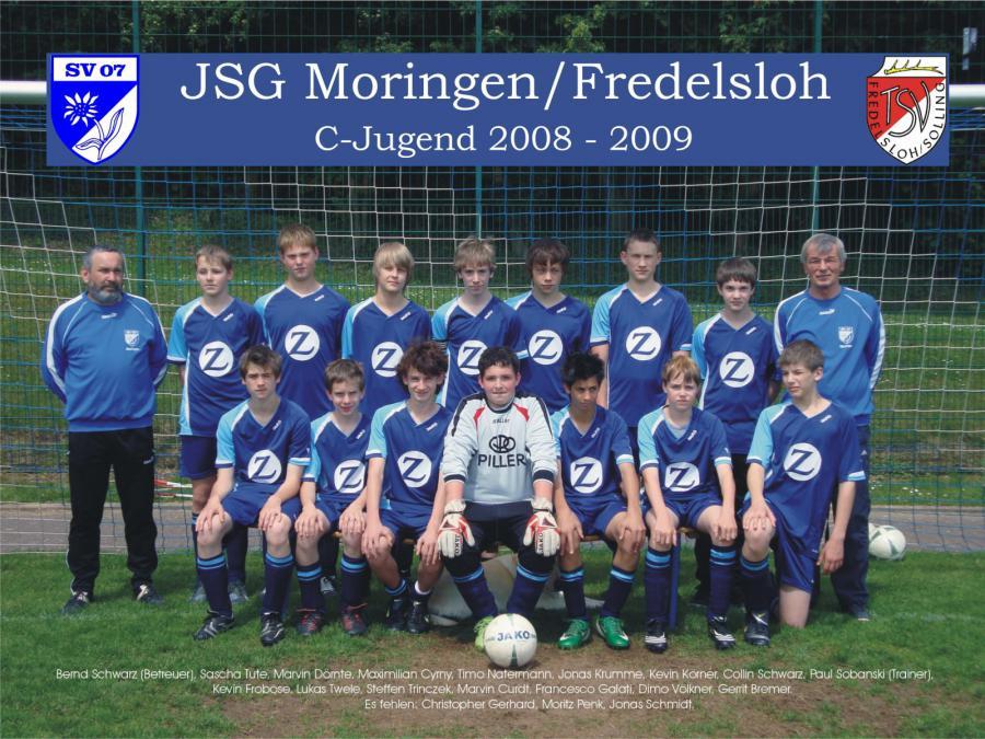 C-Jugend 2008 - 2009
