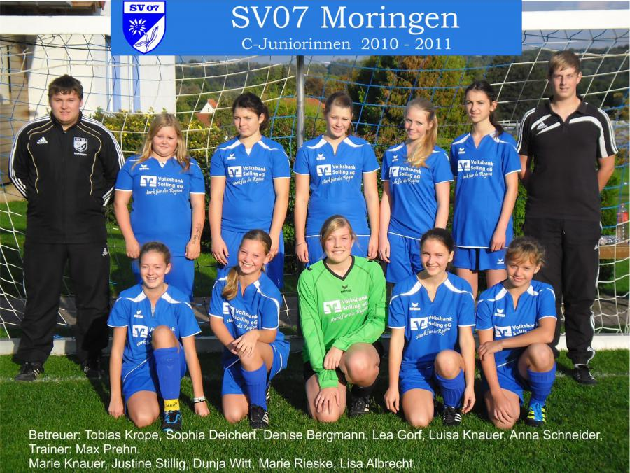 C-Juniorinnen 2010 - 2011