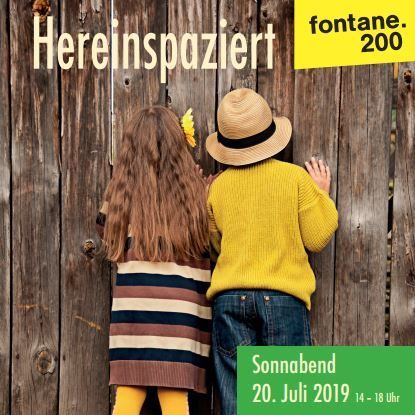 Hereinspaziert 201.07.2019