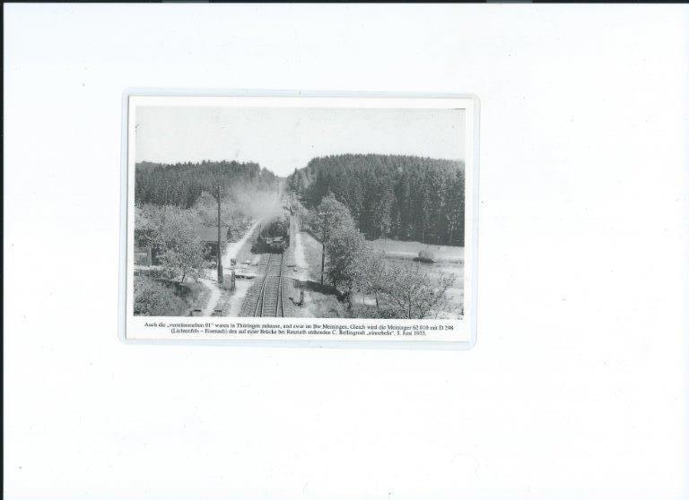 Historisches Bild zur Bahnstrecke