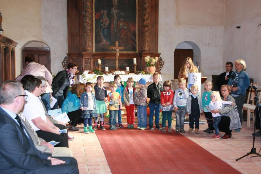 Auftritt Kindergartenkinder