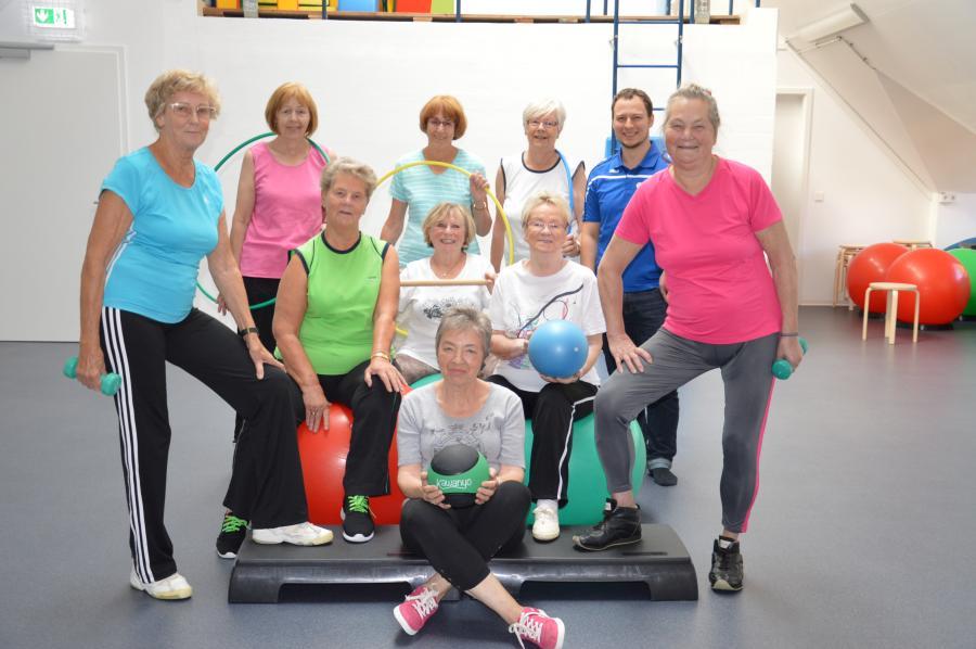 Senioren- Fitness- Fotonachweis Wochenspiegel- Verlag