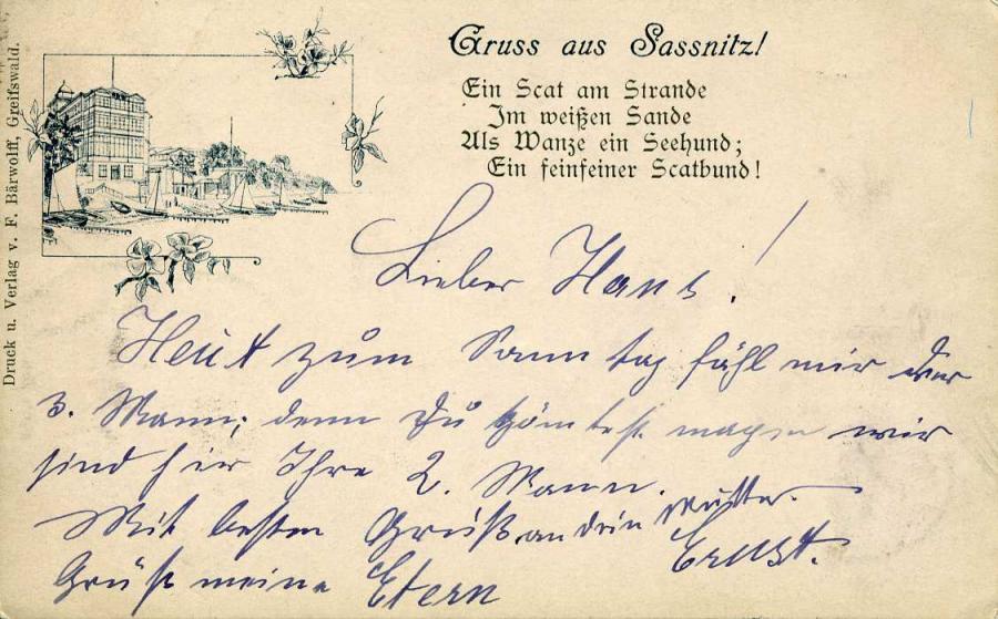 Gruss aus Sassnitz