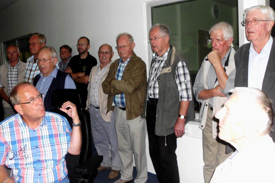 07.08.2014 FF Ehrenabteilung i.d. Leitstelle 02