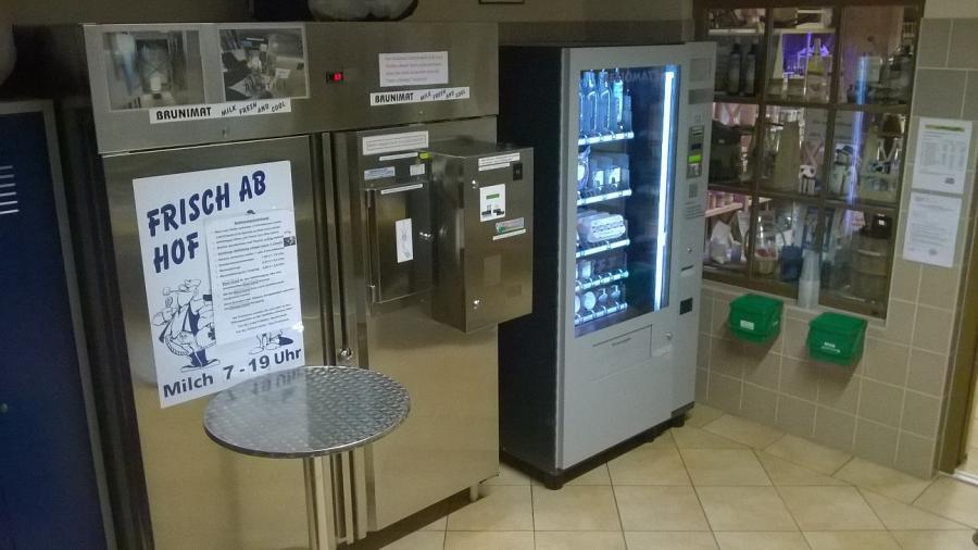 Automat Horst rechts, Hilde links