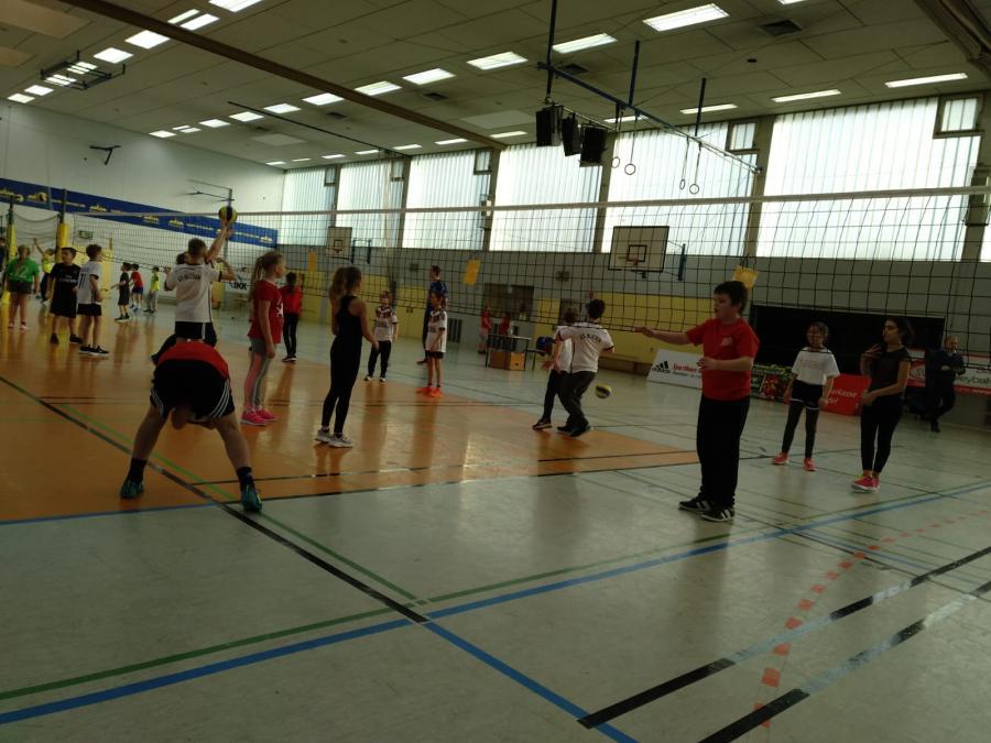 Volleyball Grundschulcup 2019