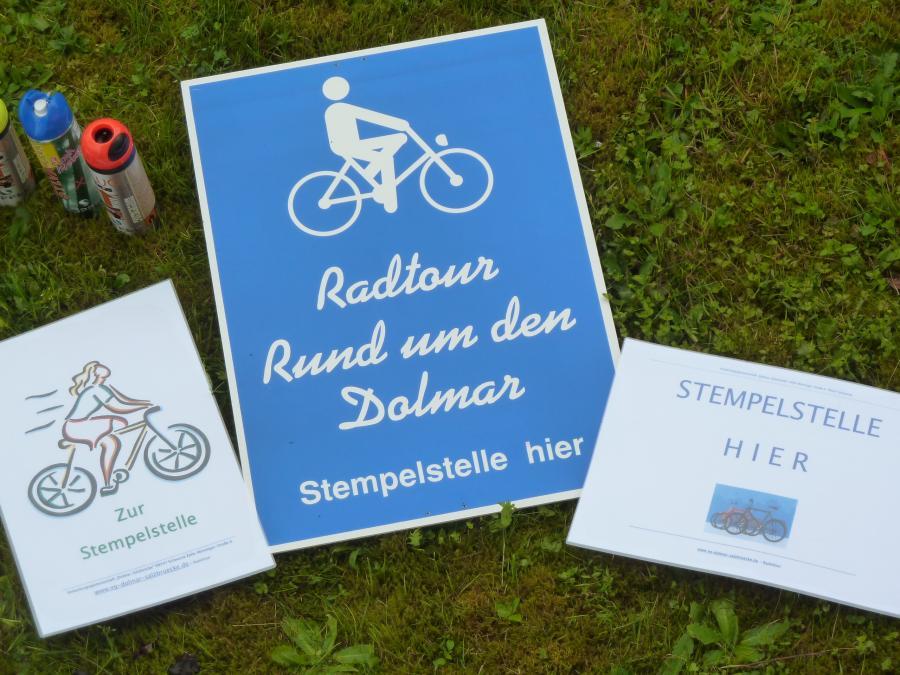 VG-Radtour-Wegweiser