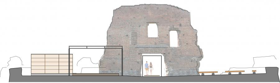 Bühnenansicht Burg Greiffenberg