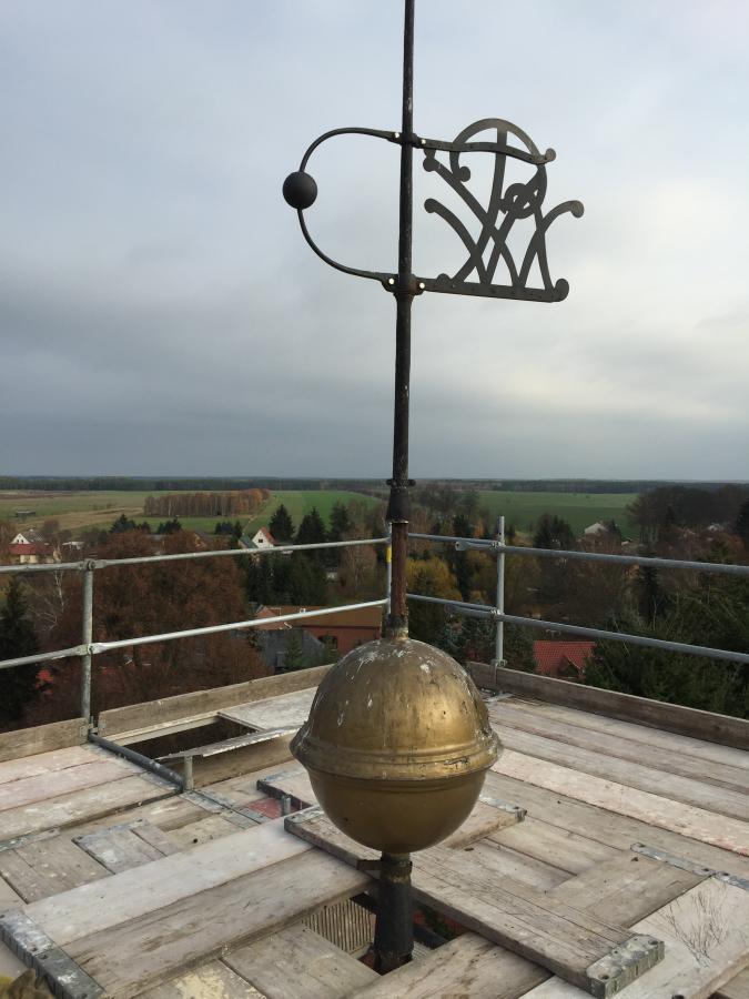 Rüdnitzer Kirchturm 15-11-12