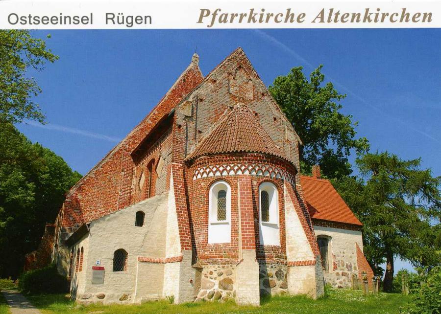 Ostseeinsel Rügen Pfarrkirche Altenkirchen