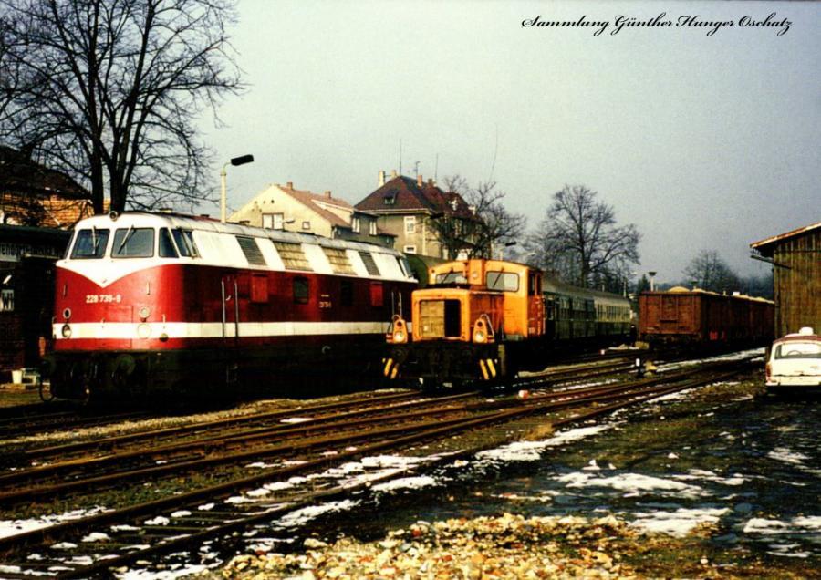Diesellokomotive 228 739