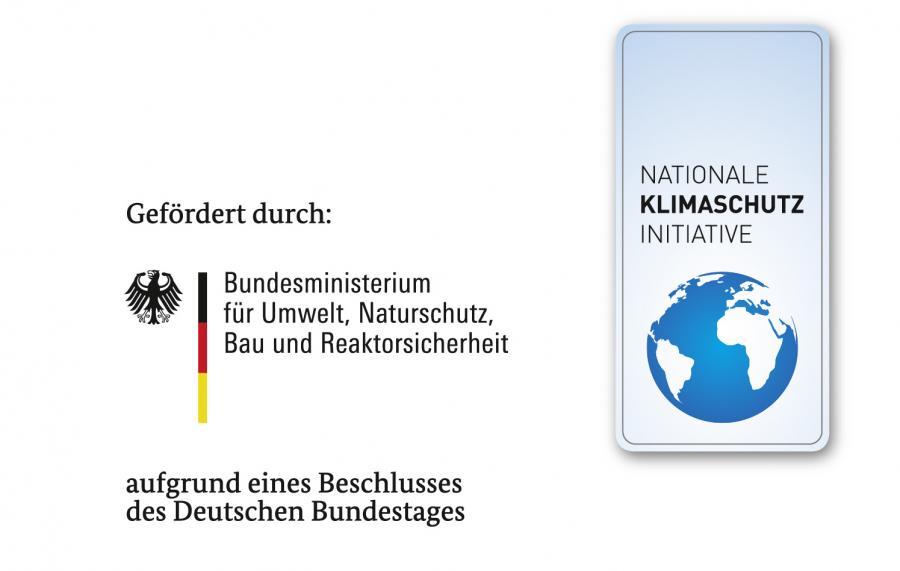 Gefördert BMU udn Klimaschutzinitiative