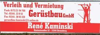 Gerüstbau GmbH Kaminski