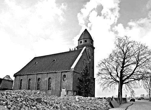 Otzenrath ev. Kirche oben rechts