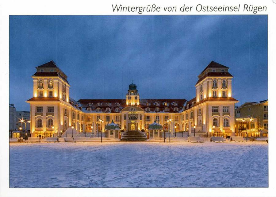 Wintergrüße von der Ostseeinsel Rügen Binz