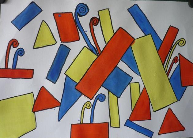 Mondrian von Julia