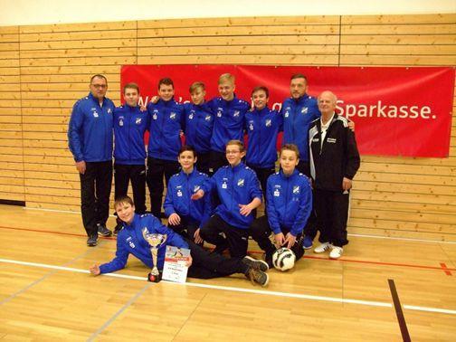Hallenkreismeister C- Junioren 2017  JFV Weißenfels I