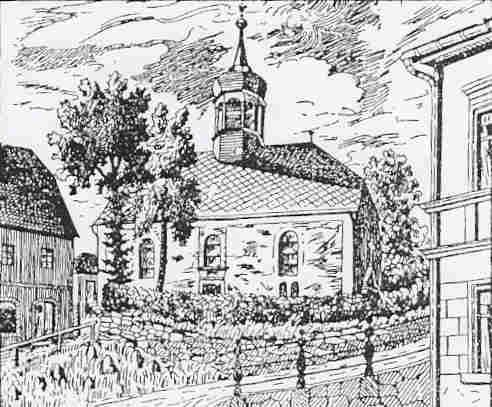 K - historisches Bild der Martin-Luther-Kirche