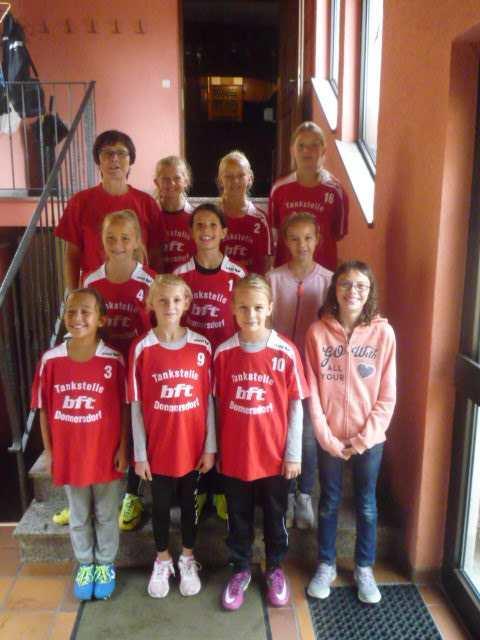 Unsere Korbballmannschaft