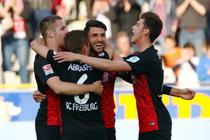 Vincenzo Grifo machte eine überragendes Spiel beim 3:0 Sieg seines Teams gegen MSV Duisburg - Foto: johapress / Hahne