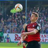 Torjäger Nils Petersen traf in Paderborn mit dem 21. Saisontreffer zur 2:0 Führung - Foto: johapress / Hahne