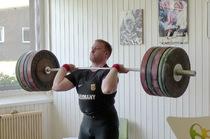 Jürgen Spiess, Gewichtheber der Deutschen Olympiamannschaft beim Lehrgang auf dem Herzogenhorn - Foto: OSP
