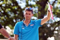 Der neue Cheftrainer Stefan Horngacher winkt nun die polnischen Skispringer ab - Foto: johapress / Hahne
