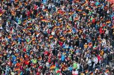 Faszination Biathlon: Hochfilzen in Tirol ist Gastgeber der Biathlon-Weltmeisterschaft 2016 - Foto: johapress / Hahne