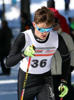 Junioren-Weltmeister im Skilanglauf-Sprint: Janosch Brugger (WSG Schluchsee) . Foto: Joachim Hahne