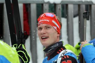 Benedikt Doll hat in Hochfilzen eine Medaille fest im Visier - Foto: johapress / Joachim Hahne