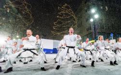 Eindrucksvolle Eröffnungsfeier der Nordischen Ski-WM in Lahti. - Foto: OK Lahti