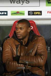 Karim Guede könnte den SC Freiburg zum Saisonende verlassen. Zuletzt kam der Stürmer nur sporadisch zum Einsatz - Foto: Hahne / johapress