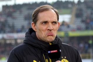 Trainer Thomas Tuchel übte scharfe Kritik an der UEFA wegen der Spielansetzung nach dem feigen Bomben-Anschlag auf den Mannschaftsbus - Foto: Hahne / johapress