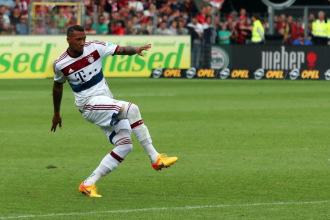 Jerome Boateng konnte in Madrid zwar mitwirken, die 2:4 Niederlage konnte der deutsche Nationalspieler aber auch nicht verhindern - Foto: johapress