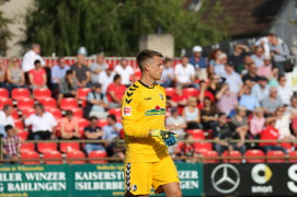 Alexander Schwolow trifft mit dem SC Freiburg in der 3. Qualifikationsrunde zur Europa-League auf NK Domzale aus Slowenien - Foto: Joachim Hahne /johapress