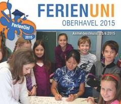FerienUni 2015 Plakat Quadratisch