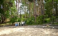 Strand mit Sitzplatz