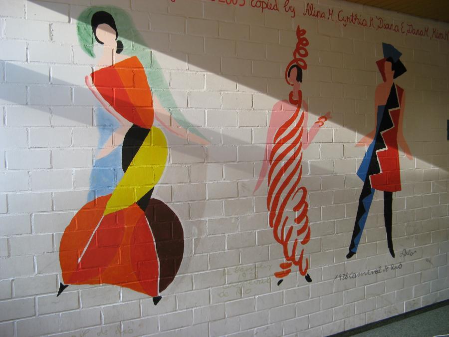 Sonia Delaunay-Terk, Carneval de Rio