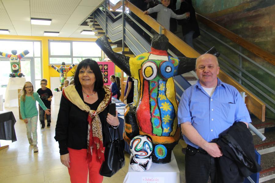 Kunstausstellung Bürgermeister