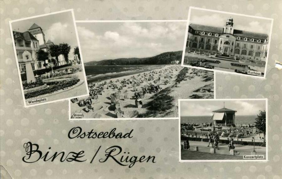 Ostseebad Binz 1961