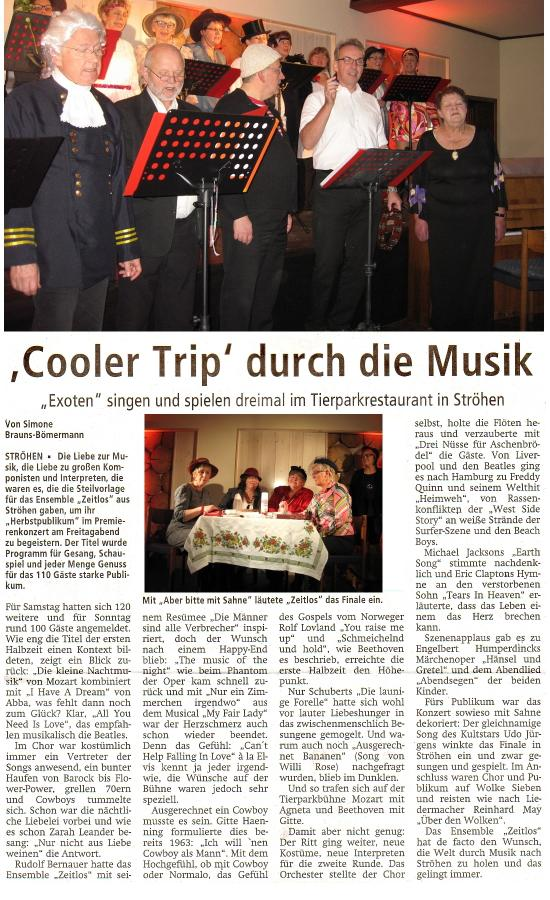 Presse Artikel Zeitlos 2015