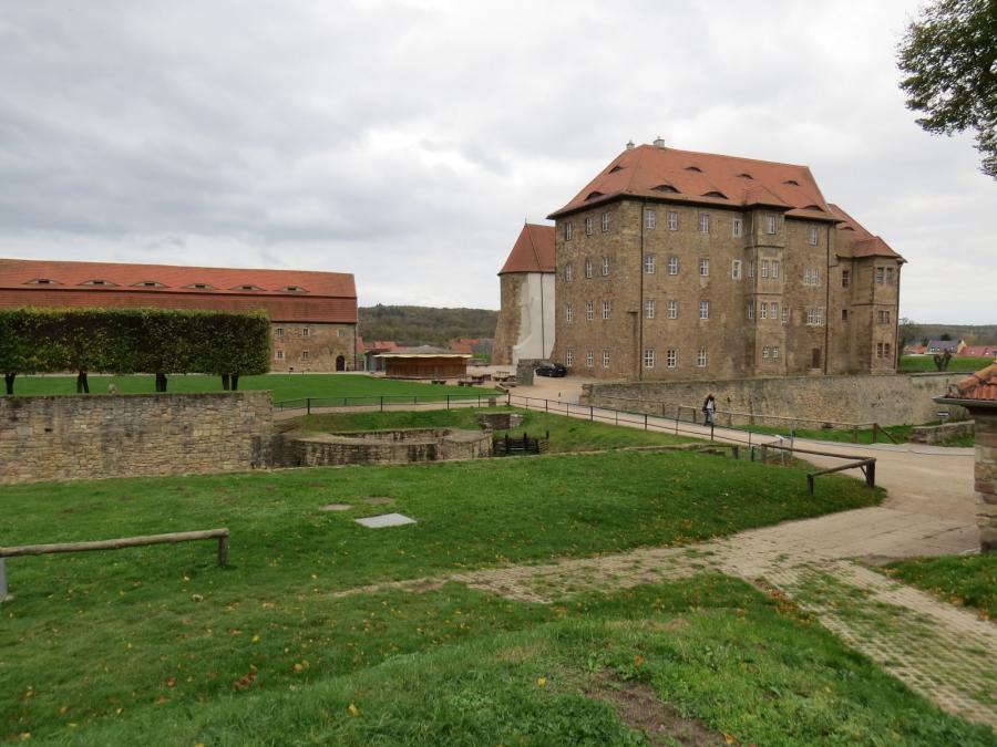 Wasserburg Heldrungen. Foto: I. Lilienthal (27.10.2017)