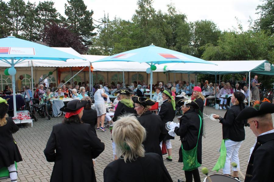 Sommerfest Seniorenhaus Lindenhof Langen