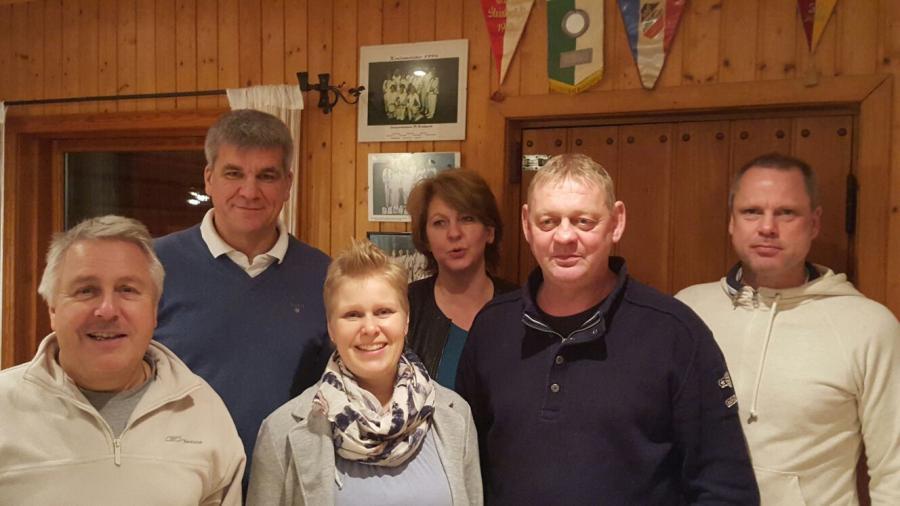Gruppenfoto Vorstand 2016