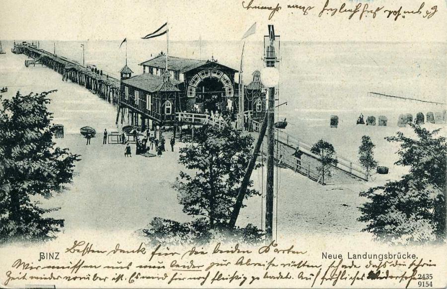 Binz Neue Landungsbrücke