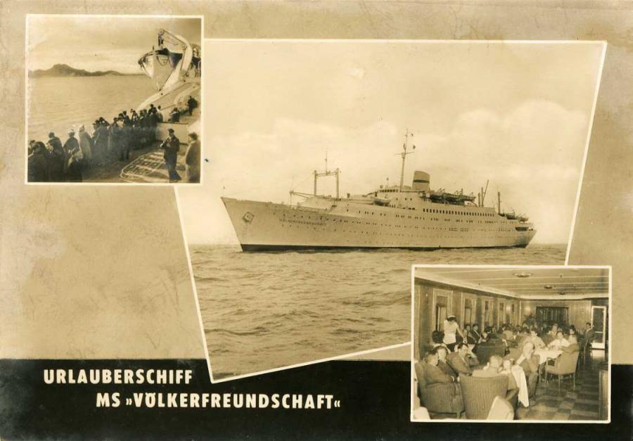 Urlauberschiff MS Völkerfreundschaft