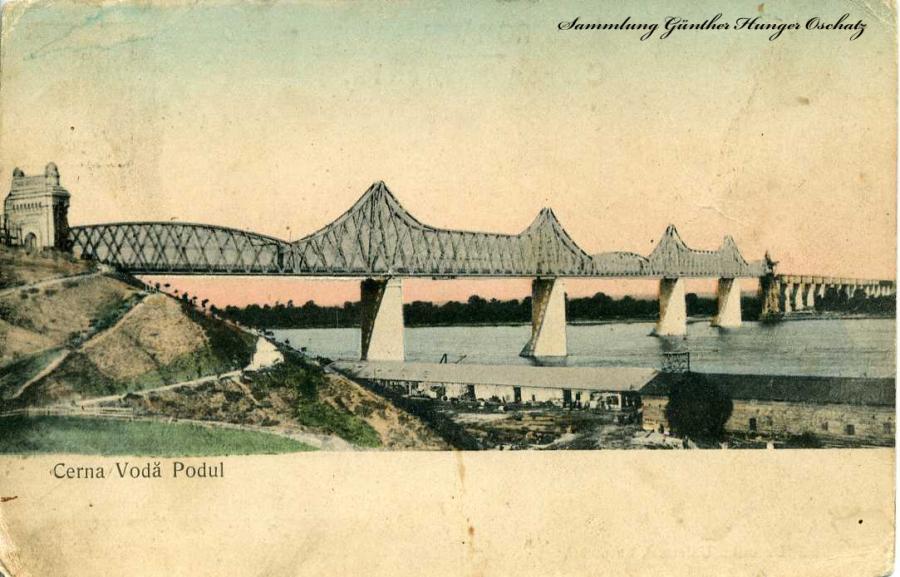 Cerna Voda Podul Anghel-Saligny-Brücke