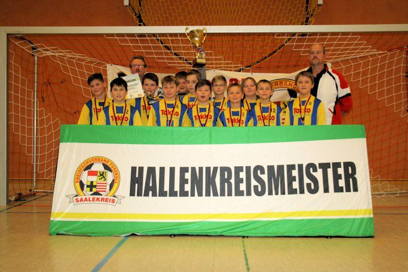 Hallenkreismeister 2014 - E-Junioren